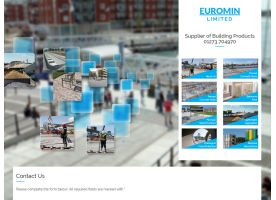 Website for Euromin Ltd