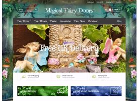 Web development of Online Store Magical Fairy Doors